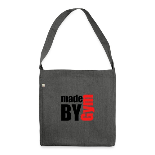 myde by gym - Schultertasche aus Recycling-Material
