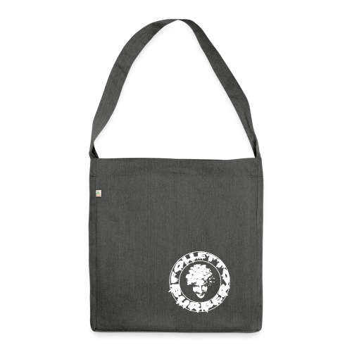 Logo bianco Folletto Burbero Metal - Borsa in materiale riciclato