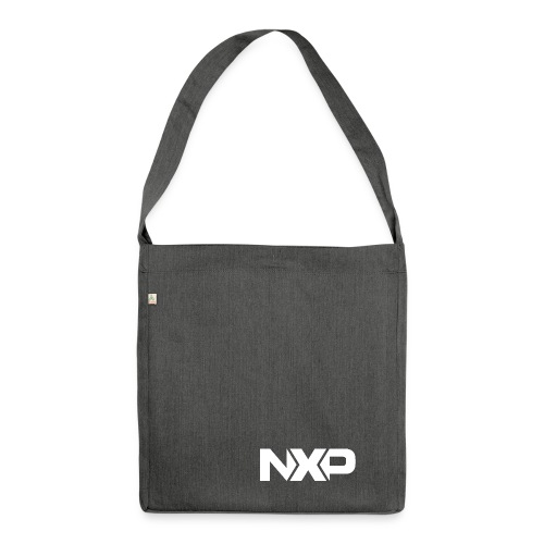no name - Schultertasche aus Recycling-Material