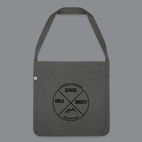 Hoila Servis Griasti - Schultertasche aus Recycling-Material