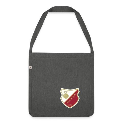 Sportfreunde Herbstadt Wappen GOLD gif - Schultertasche aus Recycling-Material