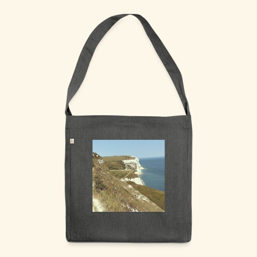 The White Cliffs Of Dover - Shoulder Bag made from recycled material