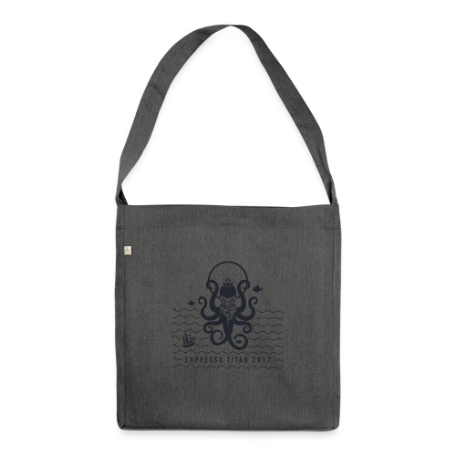 Shirt Blue png - Shoulder Bag made from recycled material