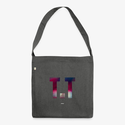 T.T #04 - Schultertasche aus Recycling-Material