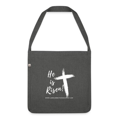 He is Risen ! V2 (Il est ressuscité !) - Sac bandoulière 100 % recyclé