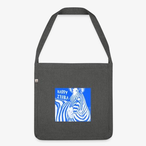 happy zebra - Sac bandoulière 100 % recyclé