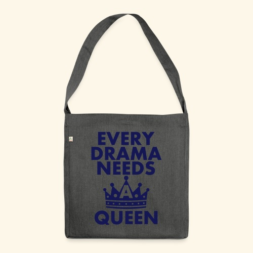 EVERY DRAMA black 1 - Shoulder Bag made from recycled material
