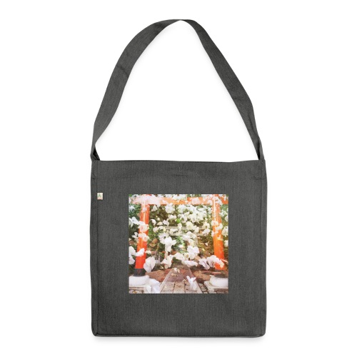 見ぬが花 Imagination is more beautiful than vi - Shoulder Bag made from recycled material