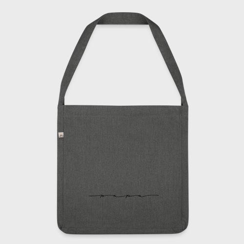 Papa – Papa Kollektion - Schultertasche aus Recycling-Material