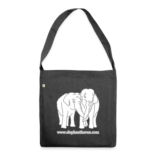 Elephants - Shoulder Bag made from recycled material