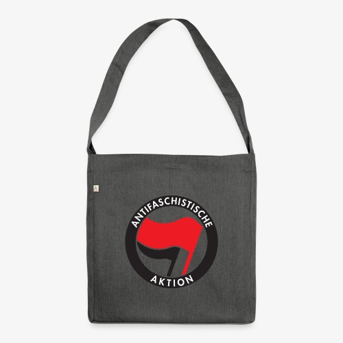 Atnifaschistische Action - Antifa Logo - Shoulder Bag made from recycled material