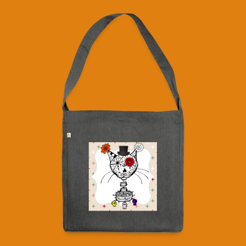 cat color - Shoulder Bag made from recycled material