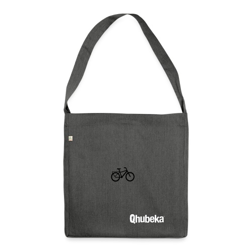 BCL Shirt Back White - Shoulder Bag made from recycled material