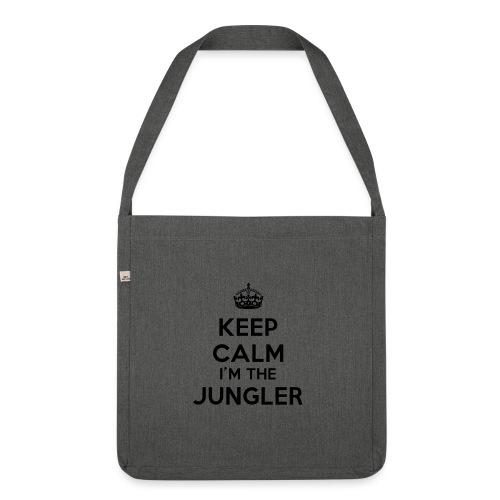Keep calm I'm the Jungler - Sac bandoulière 100 % recyclé