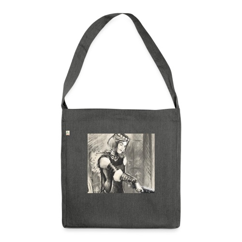 Die Lady - Schultertasche aus Recycling-Material