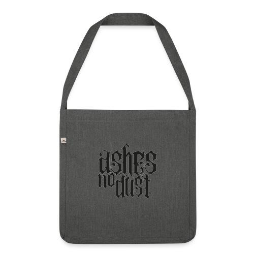 Black logo Ashes No Dust - Sac bandoulière 100 % recyclé