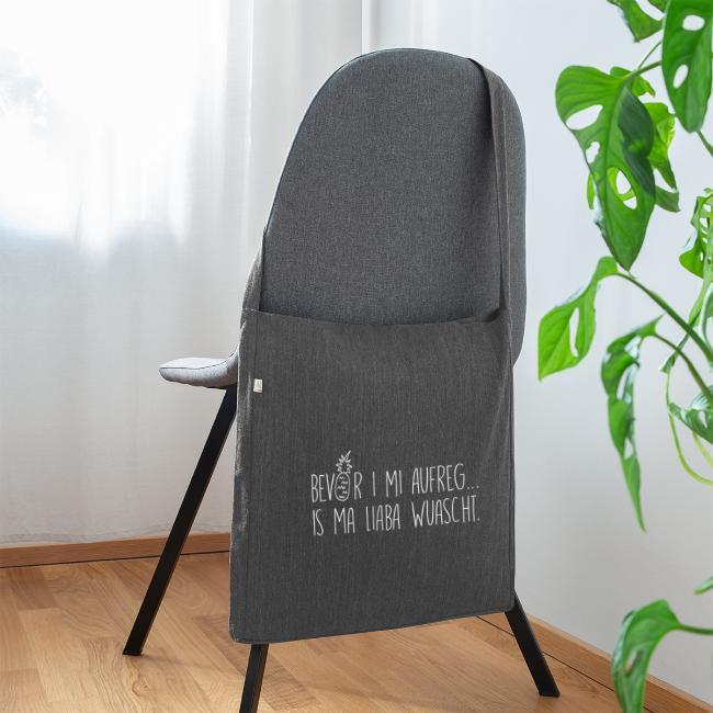 Vorschau: Bevor i mi aufreg is ma liaba wuascht - Schultertasche aus Recycling-Material