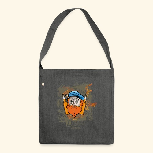 Malthead Whisky T Shirt - Schultertasche aus Recycling-Material