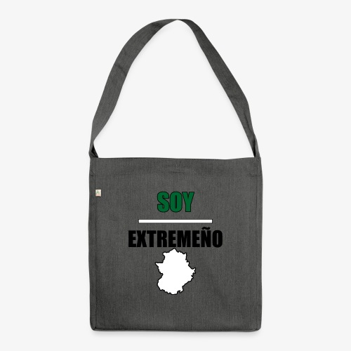 Soy Extremeño. - Bandolera de material reciclado