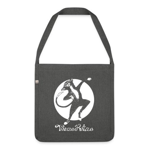 TanzeKatze - Schultertasche aus Recycling-Material