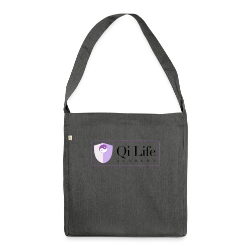 Qi Life Academy Promo Gear - Shoulder Bag made from recycled material