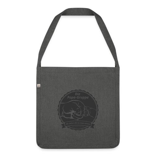 R Logo Papa Gruppe - Schultertasche aus Recycling-Material