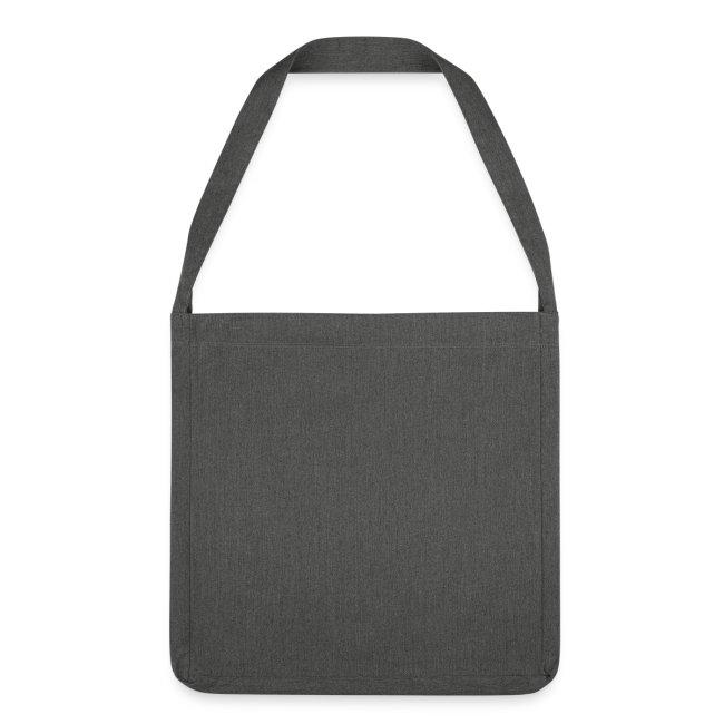 Vorschau: I bin gegen ois - Schultertasche aus Recycling-Material