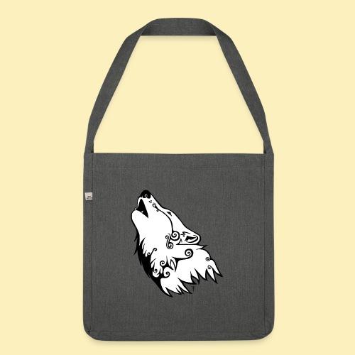 Le Loup de Neved (version blanche) - Sac bandoulière 100 % recyclé