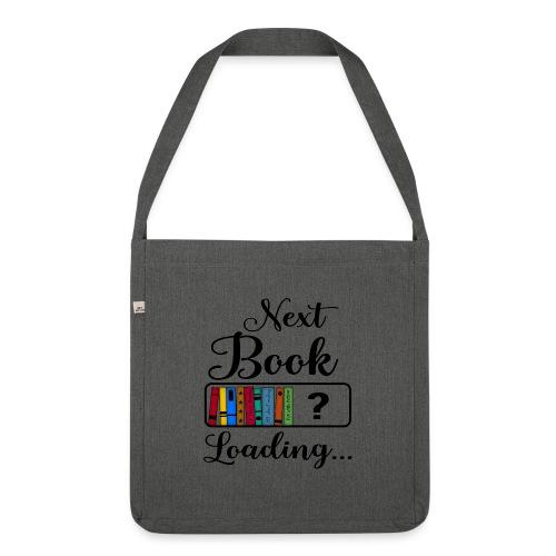 Hobby Lesen Bücher Nerd Ladebalken Book Loading - Schultertasche aus Recycling-Material