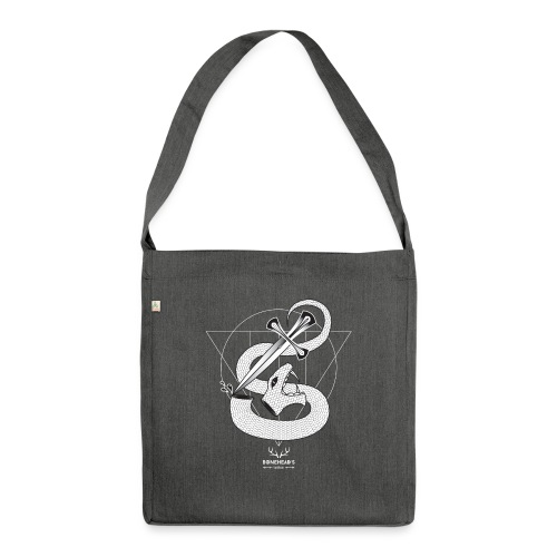 SNAKEHEAD - Shoulder Bag made from recycled material