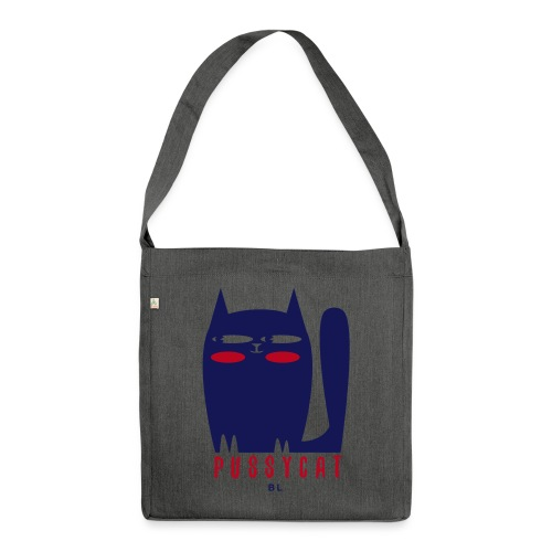 pussycat - Schoudertas van gerecycled materiaal