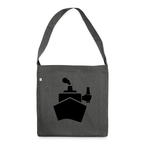 King of the boat - Schultertasche aus Recycling-Material