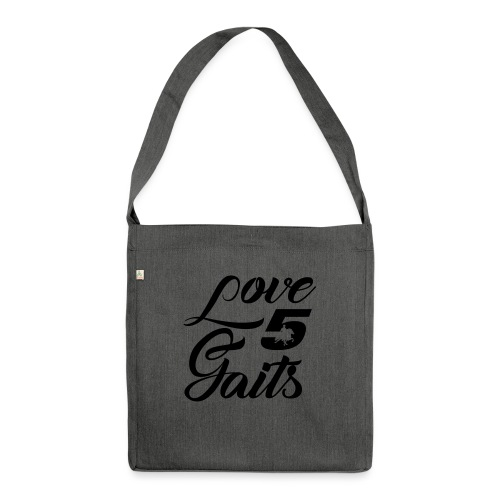 Love 5Gaits - Shoulder Bag made from recycled material