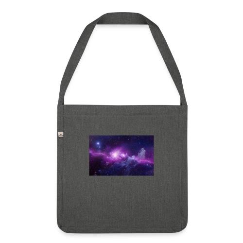 tshirt galaxy - Sac bandoulière 100 % recyclé