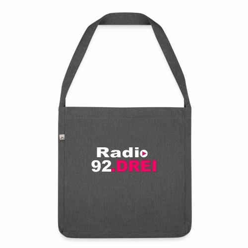 shop logo - Schultertasche aus Recycling-Material