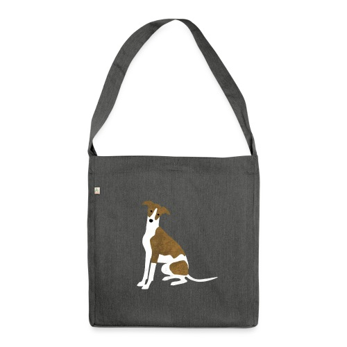 Whippet - Schultertasche aus Recycling-Material
