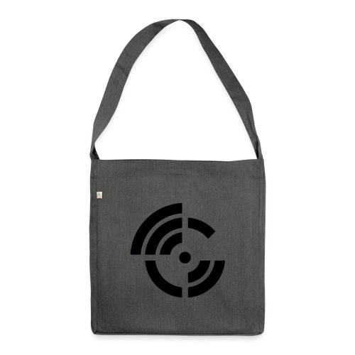 electroradio.fm logo - Schultertasche aus Recycling-Material