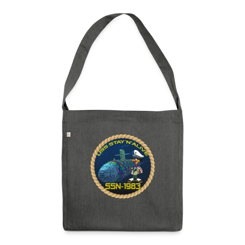 Command Badge SSN-1983 - Shoulder Bag made from recycled material
