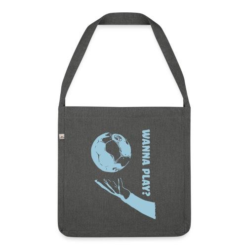 Wanna Play Handball - Skuldertaske af recycling-material