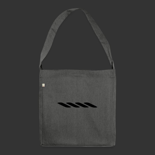 Rope With Bite Logo - Shoulder Bag made from recycled material