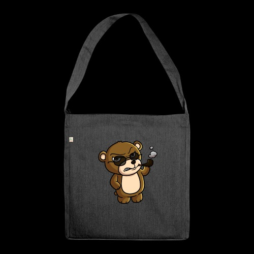 AngryTeddy - Shoulder Bag made from recycled material