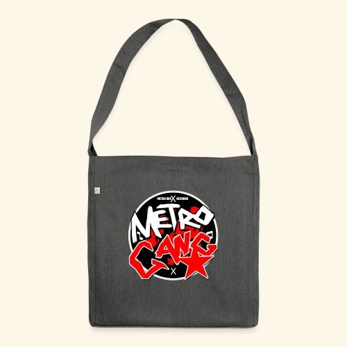 METRO GANG LIFESTYLE - Shoulder Bag made from recycled material