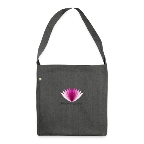 #flowerpower - Shoulder Bag made from recycled material