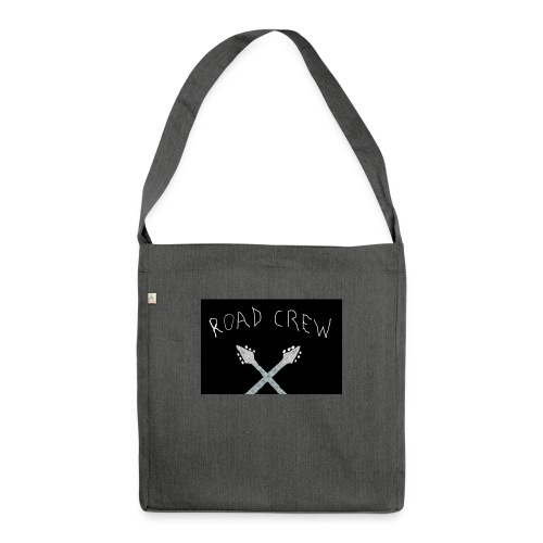 Road_Crew_Guitars_Crossed - Shoulder Bag made from recycled material