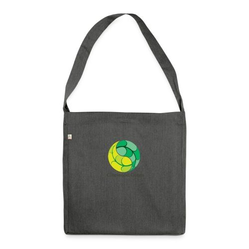 Cinewood Green - Shoulder Bag made from recycled material
