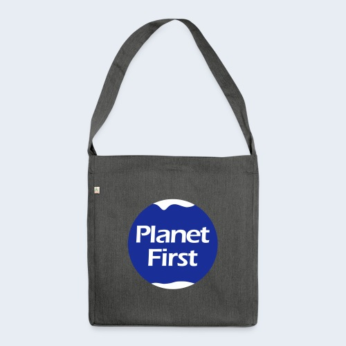 Planet First 2 - Schoudertas van gerecycled materiaal