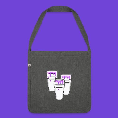 Purple - Borsa in materiale riciclato