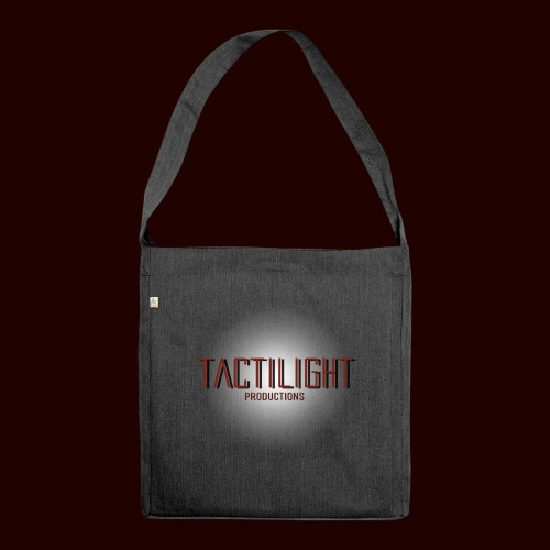 Tactilight Logo - Shoulder Bag made from recycled material