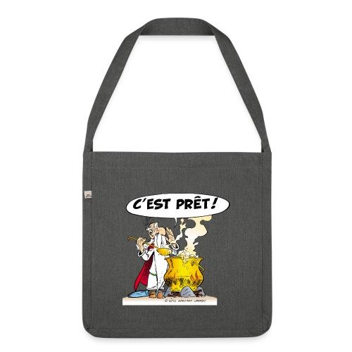 Asterix & Obelix - Miraculix potion magique potion - Sac bandoulière 100 % recyclé