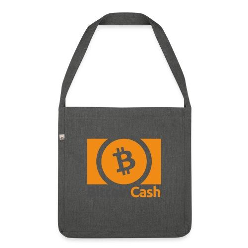 Bitcoin Cash - Olkalaukku kierrätysmateriaalista